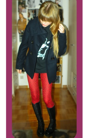 Sid lives t-shirt - Zara jacket - Underground Patricia shoes