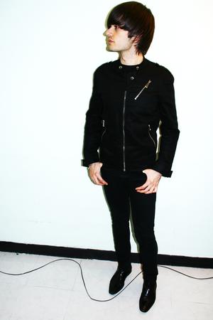 Zara jacket - H&M t-shirt - Cheap Monday jeans - Zara boots
