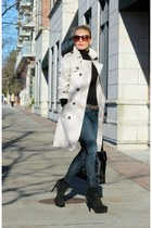 Via Spiga boots - Zara coat