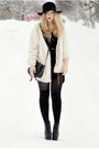 Black-lita-jeffrey-campbell-shoes-black-second-hand-hat-white-furry-bik-bok-