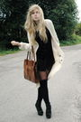 White-camilla-norrback-cardigan-black-h-m-socks-black-monki-shirt-roots-sh