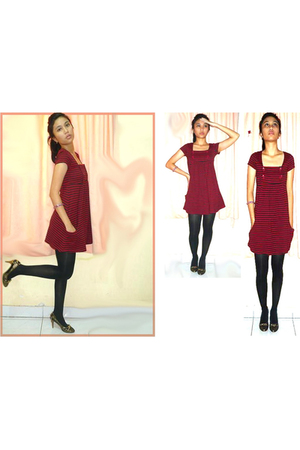 ITC Cempaka Mas dress - Mary Jane tights - - shoes
