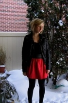 Christian Louboutin shoes - forever 21 jacket - DIY skirt