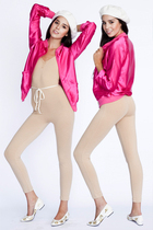American Apparel jacket - American Apparel leggings - American Apparel hat - Ame