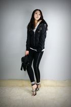style2bb3 jacket - style2bb3 leggings - style2bb3 shoes - style2bb3 purse