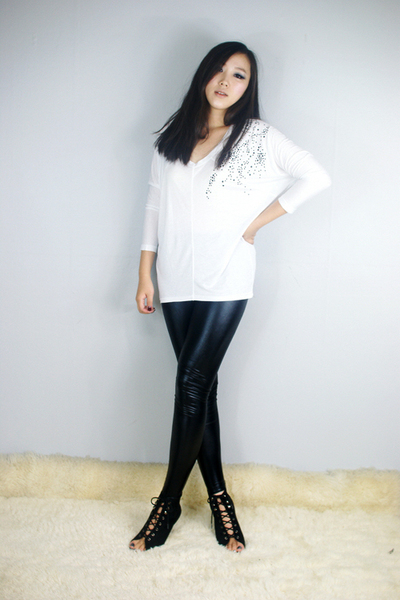 style2bb3 leggings - style2bb3 top - style2bb3 shoes