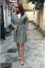 Heather-gray-hooded-cape-zara-jacket