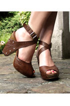 brown Luna shoes