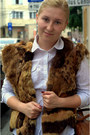 Tawny-faux-leather-hm-bag-fur-vest-vintage-vest