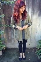 Forever 21 jacket - Forever 21 top - Ebay flats