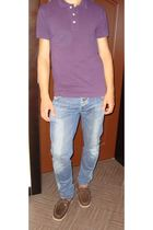 Timberland shoes - Zara t-shirt - Lee- Cooper jeans
