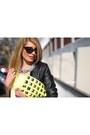 Black-zara-boots-biker-new-yorker-jacket-neon-h-m-purse-neon-mango-blouse