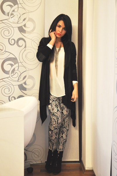 Black-zara-boots-cream-zara-shirt-black-h-m-cardigan