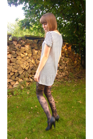 Promod dress - H&M leggings - H&M shoes