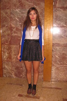 Urban Outfitters skirt - H&M top - Absolute Vintage shoes - market in Marocco sc