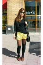 H&M shorts - Ray Ban sunglasses