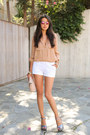 Ivory-marc-jacobs-bag-white-asos-shorts-camel-haute-hippe-blouse