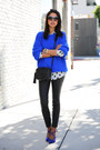 Blue-topshopt-sweater-black-current-elliot-pants