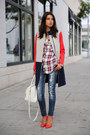 Navy-j-crew-coat-white-rails-shirt-red-miu-miu-heels