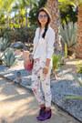 White-minusey-jeans-white-h-m-shirt-hot-pink-rebecca-minkoff-bag