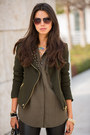 Olive-green-zara-jacket-light-orange-zara-bag-brown-j-crew-sunglasses