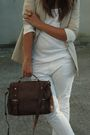 Beige-zara-blazer-white-h-m-top-white-zara-pants-beige-kanna-shoes-brown