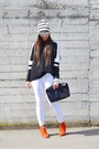 Gold-betty-london-boots-white-asos-hat-black-zara-sweater-black-zara-bag