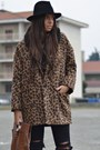 Dark-brown-river-island-coat-camel-forever21-boots-black-zara-hat