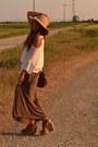 Camel-floppy-hat-bershka-hat-camel-sweater-h-m-sweater-brown-maxi-skirt-zara