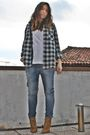 Green-zara-homme-shirt-white-h-m-man-top-gray-met-jeans-beige-zara-shoes-