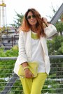 Ivory-zara-shoes-ivory-h-m-blazer-lime-green-h-m-bag