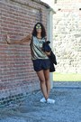 Gold-swaychic-top-black-zara-blazer-black-zara-shorts