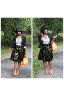 Nyc-shoes-banana-republic-blazer-kamish-bag-thrifted-vintage-skirt