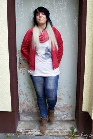 G Quattro jacket - MQ23 shoes - sammydress leggings - pieces scarf - Esprit bag