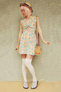 Periwinkle-dr-martens-boots-peach-cutout-floral-moddolly-dress