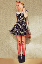 DIY Tights and Polka Dots