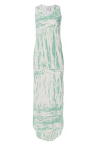 Basic Marble Green Dress