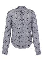 Eye Print Flock Shirt