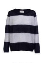 Navy Mohair Knit