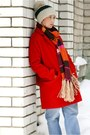 Carrot-orange-h-m-scarf-burnt-orange-michael-kors-bag