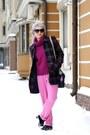 Magenta-uniqlo-sweater-hot-pink-h-m-pants
