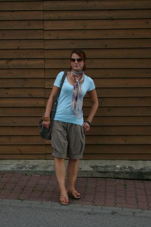 H&M t-shirt - Mango shorts - H&M accessories - vintage shoes
