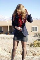 navy Tommy Hilfiger blazer - dark gray EL Paso Boutique dress