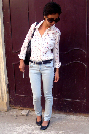 white Tommy Hilfiger - jeans Topshop - JLO by jennifer Lopez