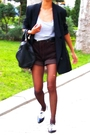 Black-stella-mccartney-jacket-gray-mango-brown-diy-brown-accessorize-tight