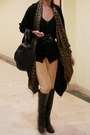 Black-alexander-wang-gold-h-m-scarf-black-mango-cardigan-black-emporio-arm