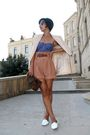 Black-emporio-armani-beige-zara-blazer-topshop-brown-zara-shorts-brown-m
