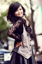 Lace dress...