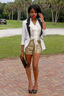 Ivory-tuxedo-charlotte-rusee-blazer-gold-sequins-tj-maxx-shorts
