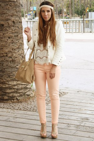 nude Lefties pants